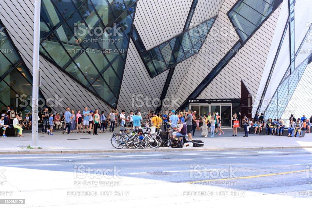 Toronto Musem - Royalty-free Bicycle Stock Photo