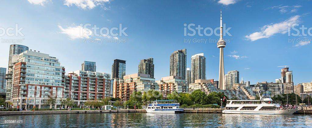 Toronto Ontario Canada panoramic stock photo