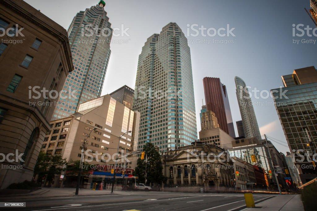 Toronto, Ontario Skyline stock photo
