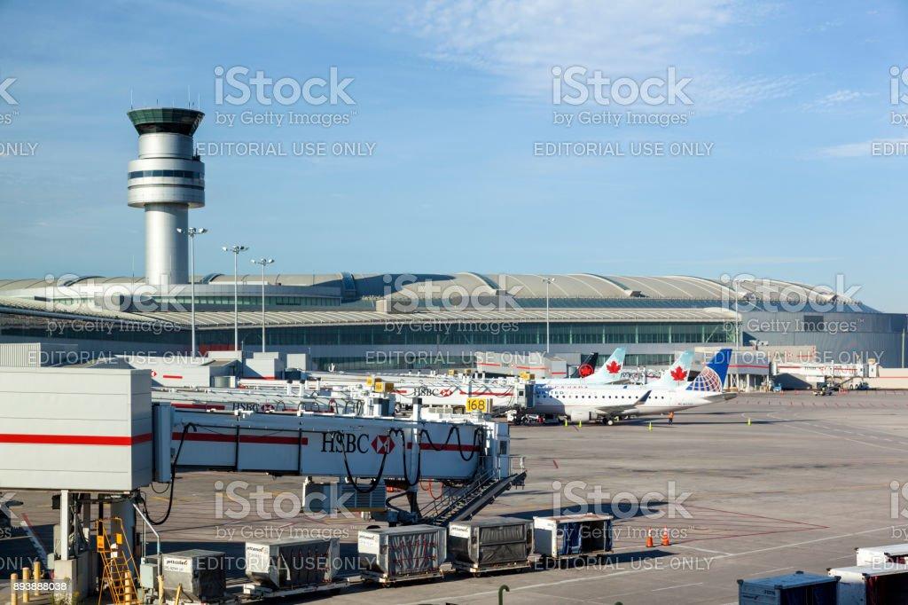 Toronto Pearson International Airport, Canada stock photo