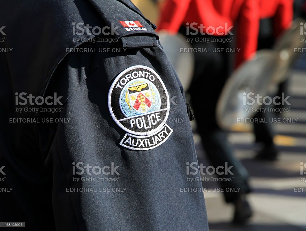 Toronto Police Uniform stock photo