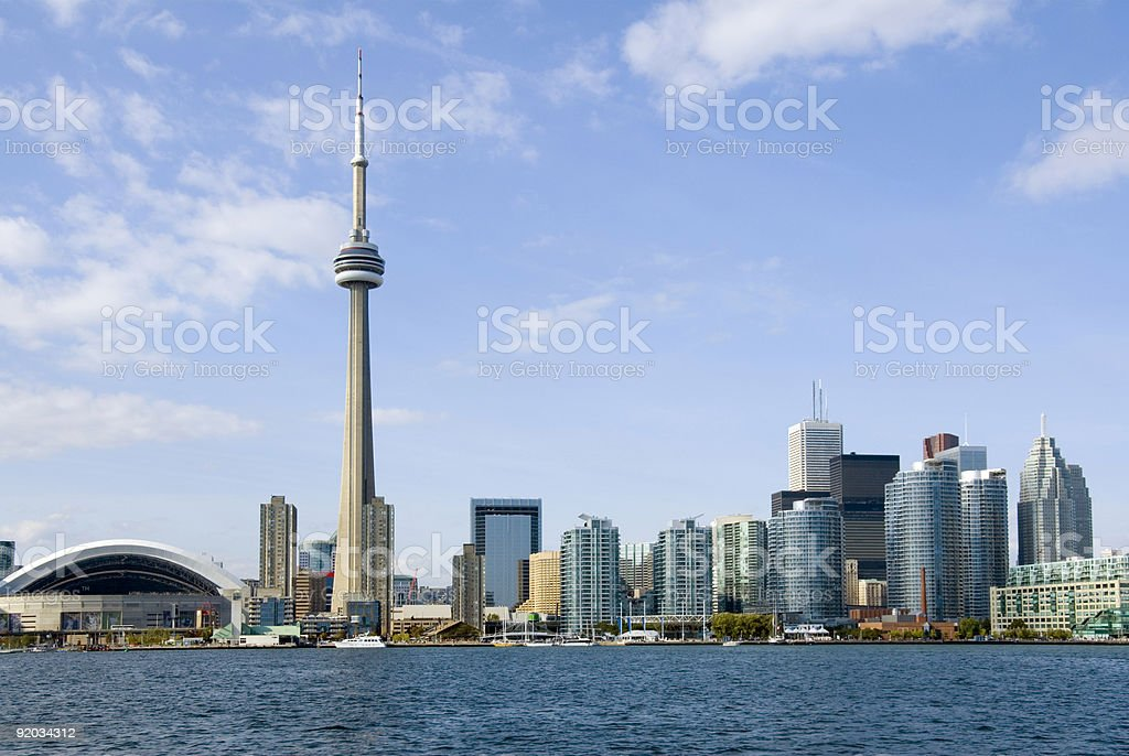 Toronto Postcard stock photo