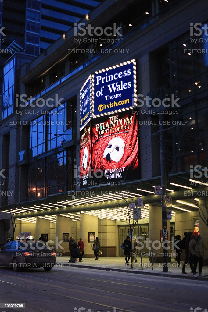 Toronto Princess of Wales Theatre - Royalty-free Arts Culture and Entertainment Stock Photo