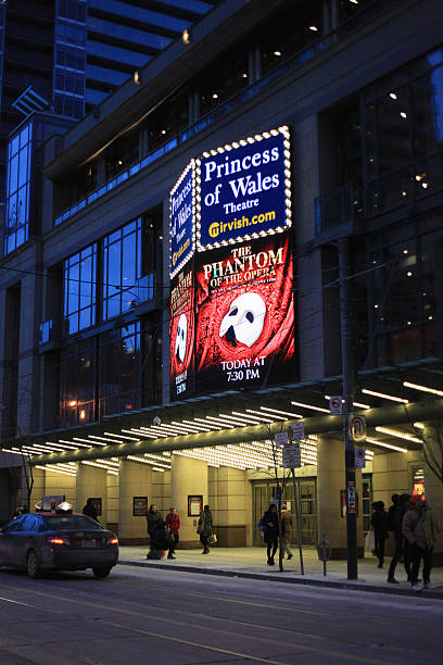 Toronto Princess of Wales Theatre stock photo