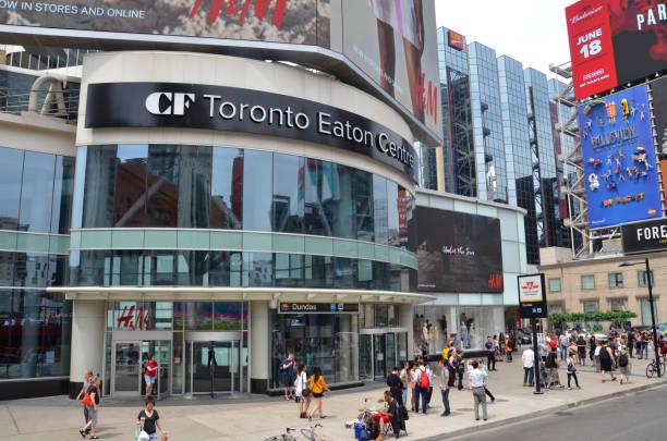 Toronto sights stock photo