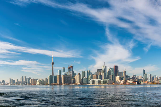 Toronto Skyline, Canada stock photo