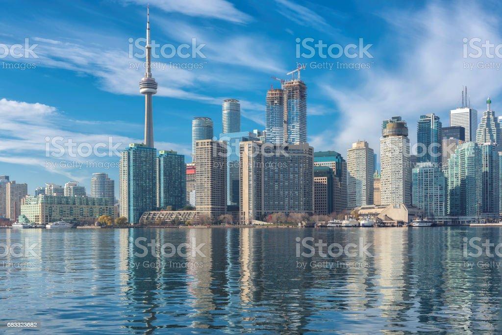 Toronto skyline, Canada. royalty-free stock photo