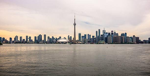 Toronto Skyline -  Panoramic View stock photo
