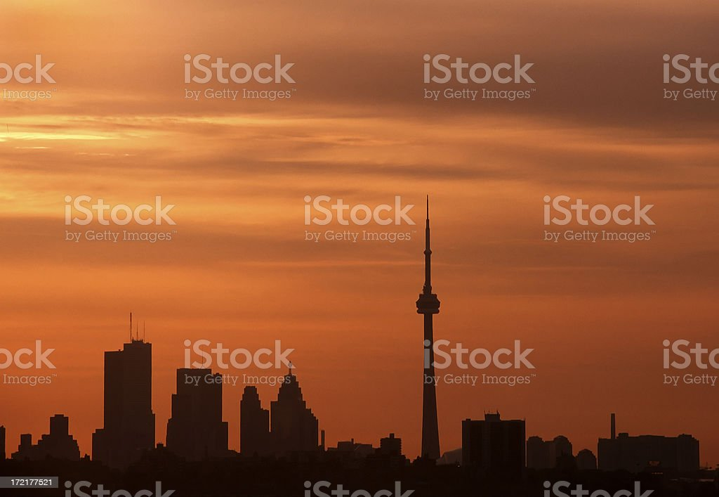 Toronto Skyline royalty-free stock photo