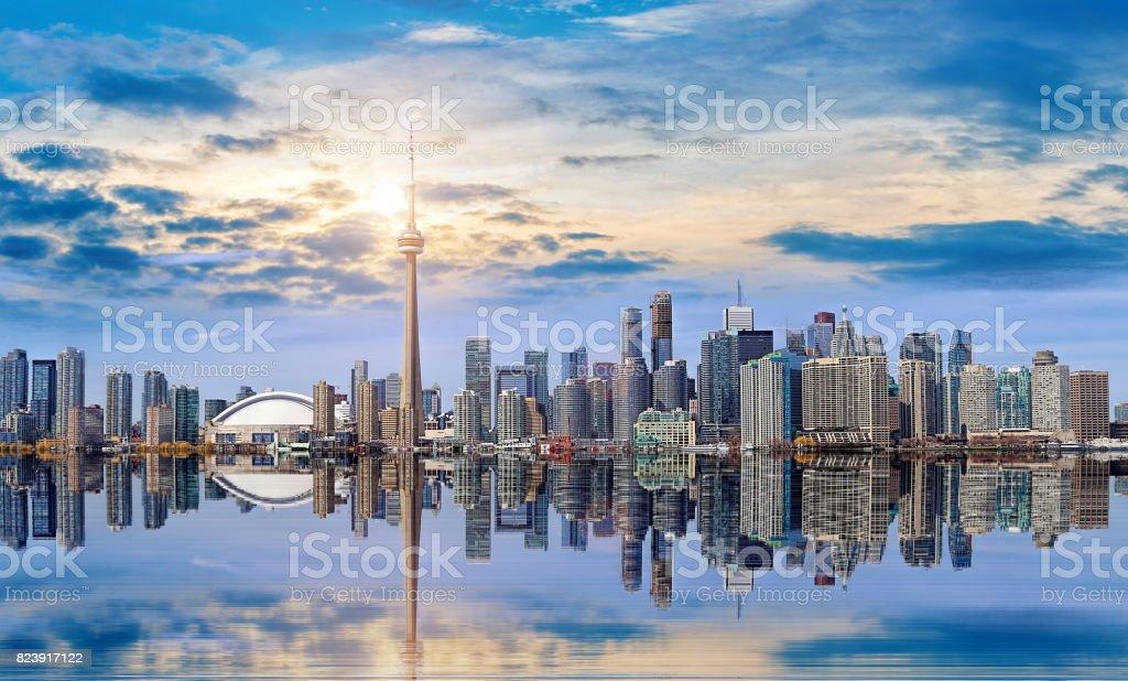 Toronto Skyline - foto stock