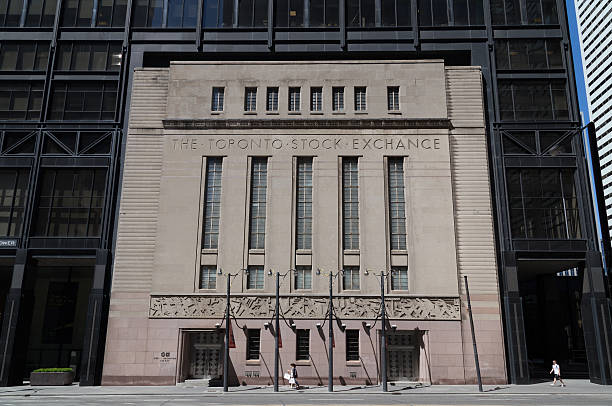 Toronto Stock Exchange stock photo