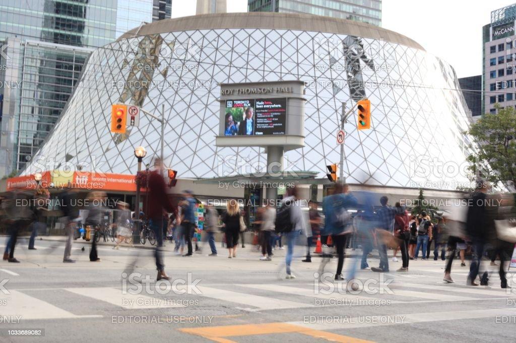 Toronto Street - Royalty-free 2018 Stock Photo