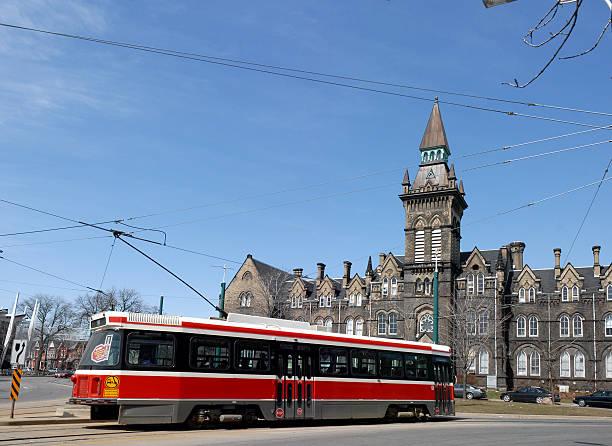 toronto streetcar - toronto streetcar stock photos and pictures