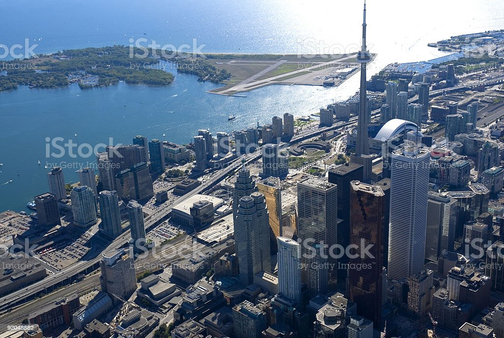 Toronto Towers stock photo