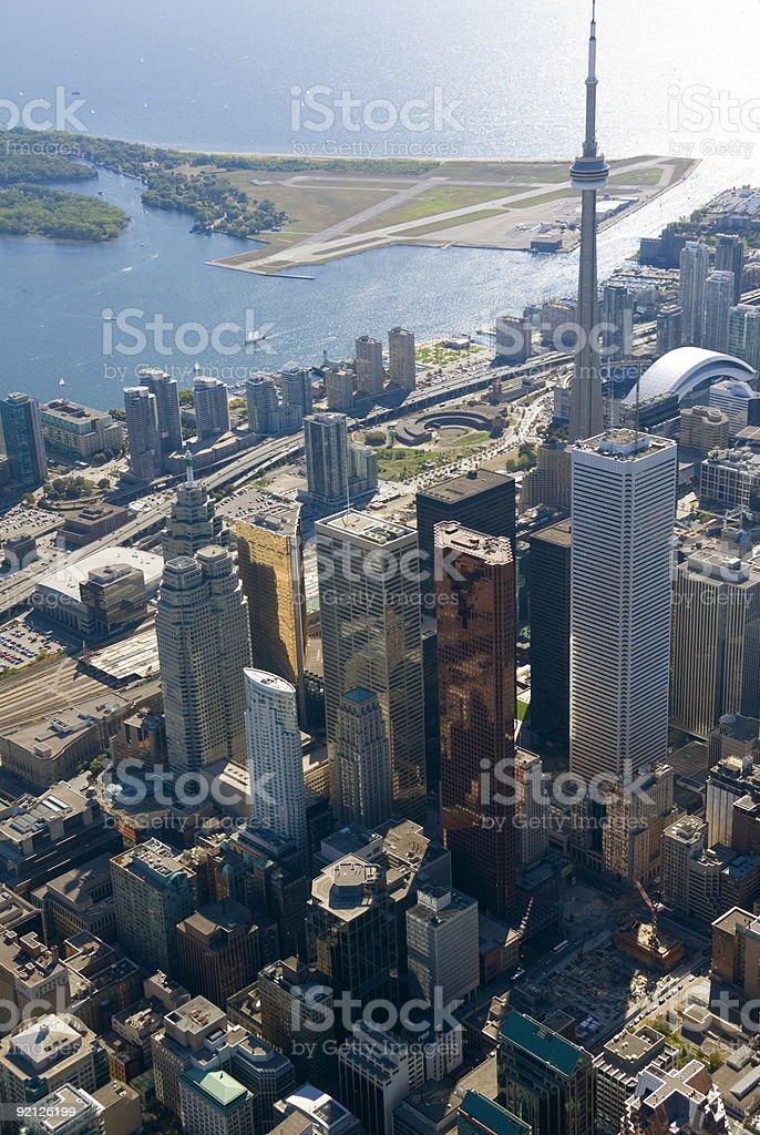 Toronto Towers royalty-free stock photo