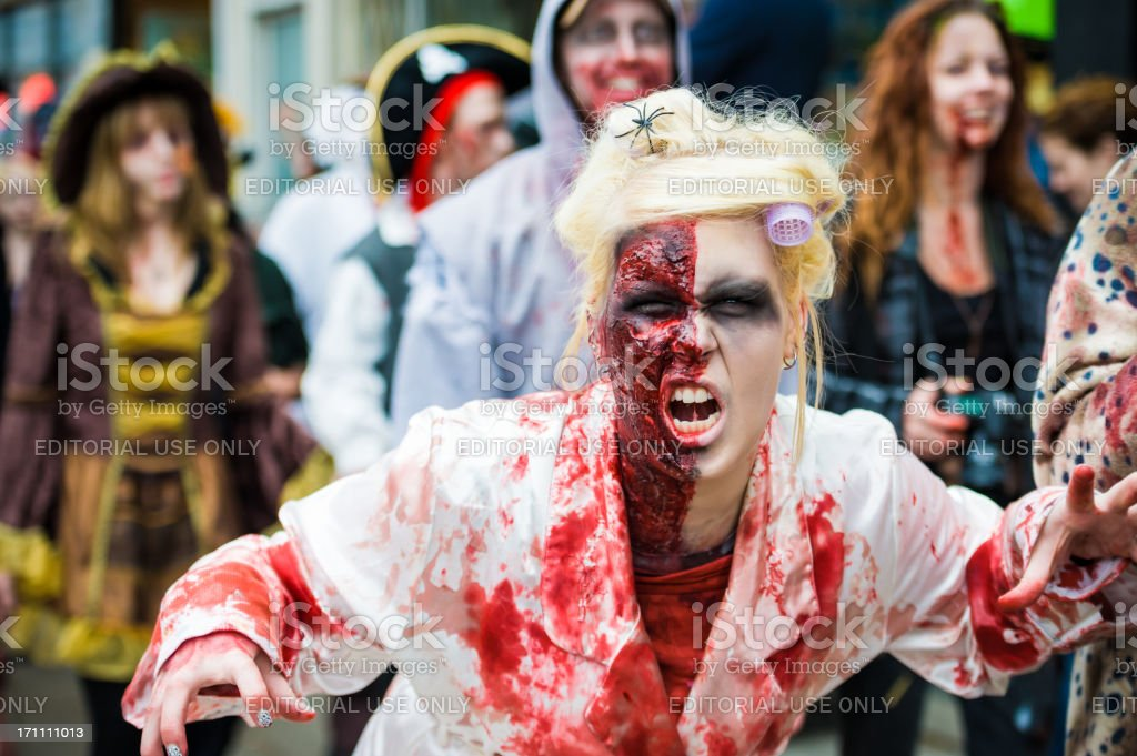 Toronto Zombie Walk 2011 stock photo