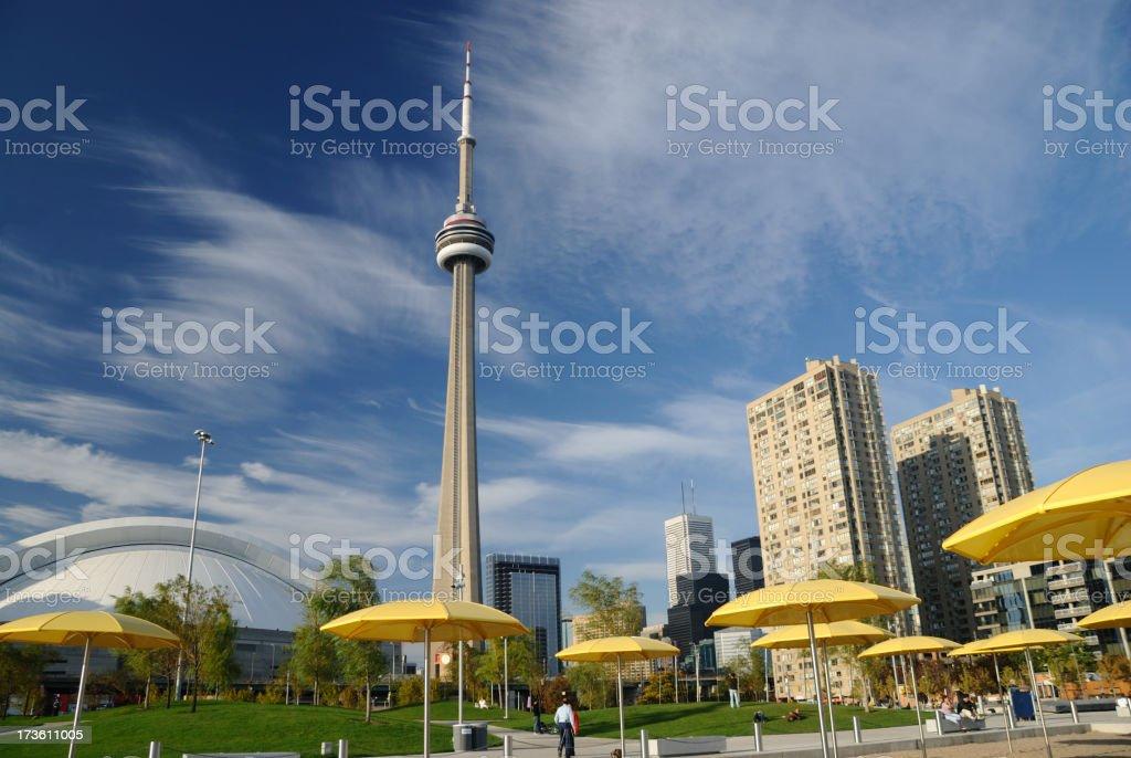 Toronto's CN Tower stock photo