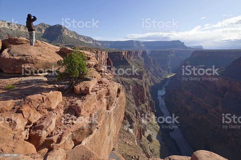 Toroweap Point, Grand Canyon National Park stock photo