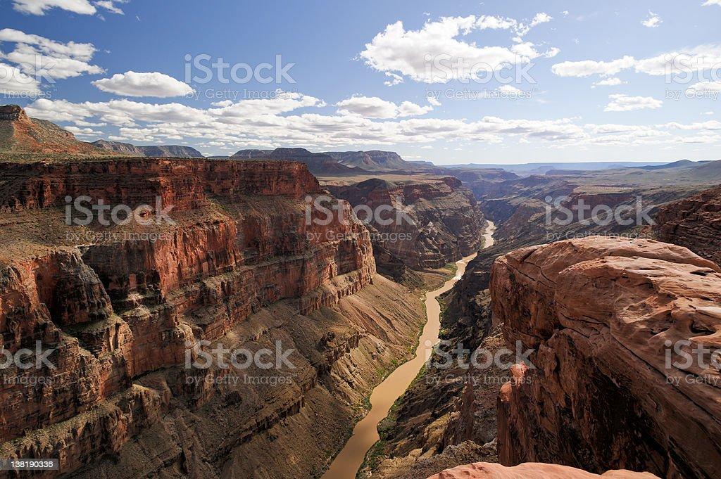 Toroweap Point,  Grand Canyon stock photo