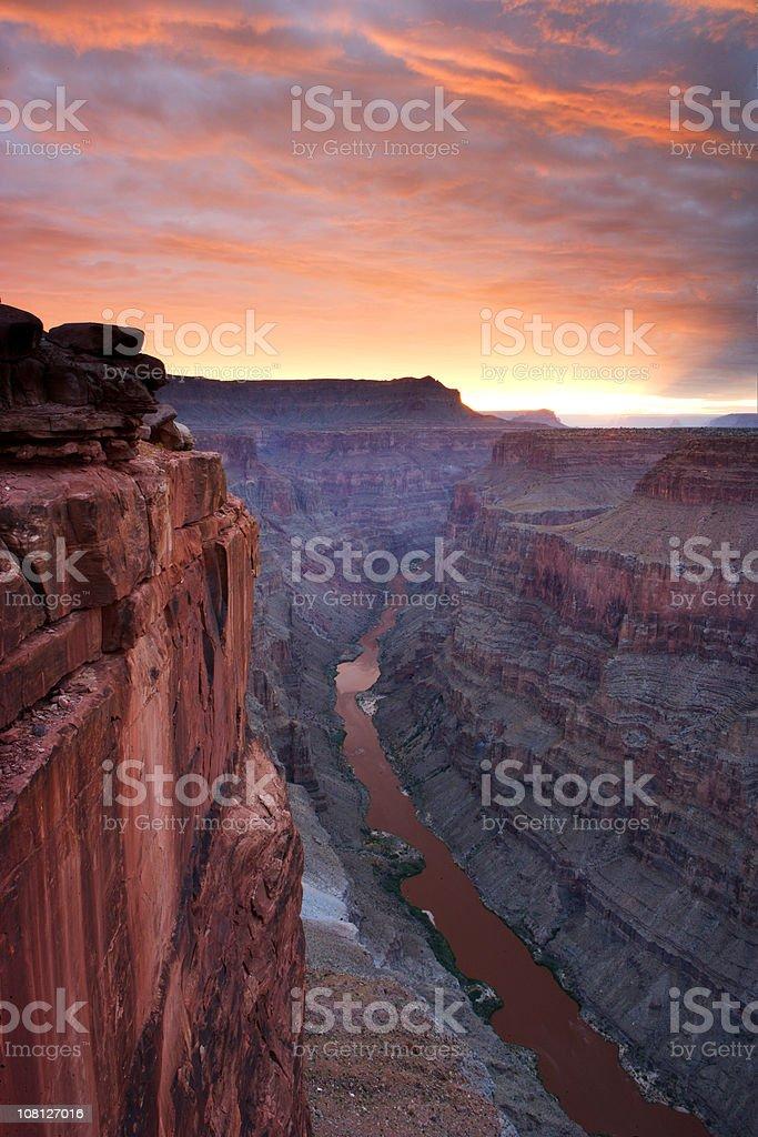 Toroweap Sunrise stock photo