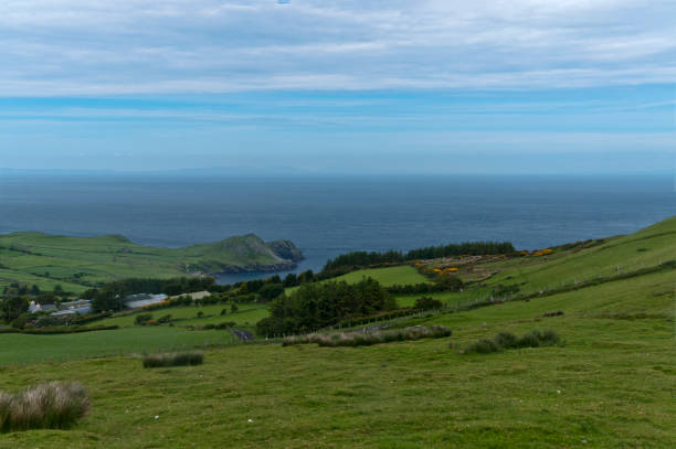 Torr Head from Greenhill stock photo