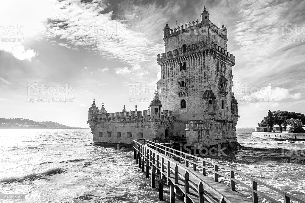 Torre di belem portogallo bianco e nero lisbona for Foto hd bianco e nero