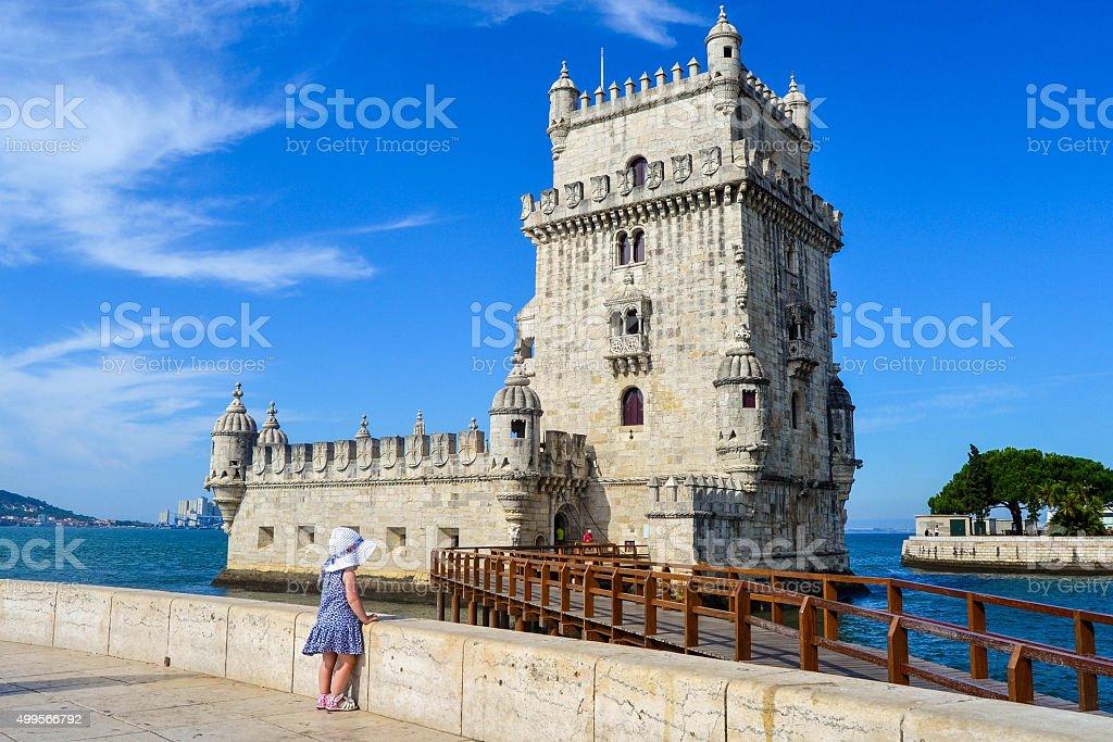 Torre de Belem. Lisboa. Belem Tower stock photo