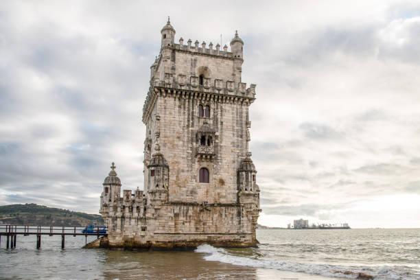 Torre de Belém, Lisbon stock photo