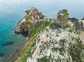 Torre Degli Appiani. Island in Punta Ala. Italy