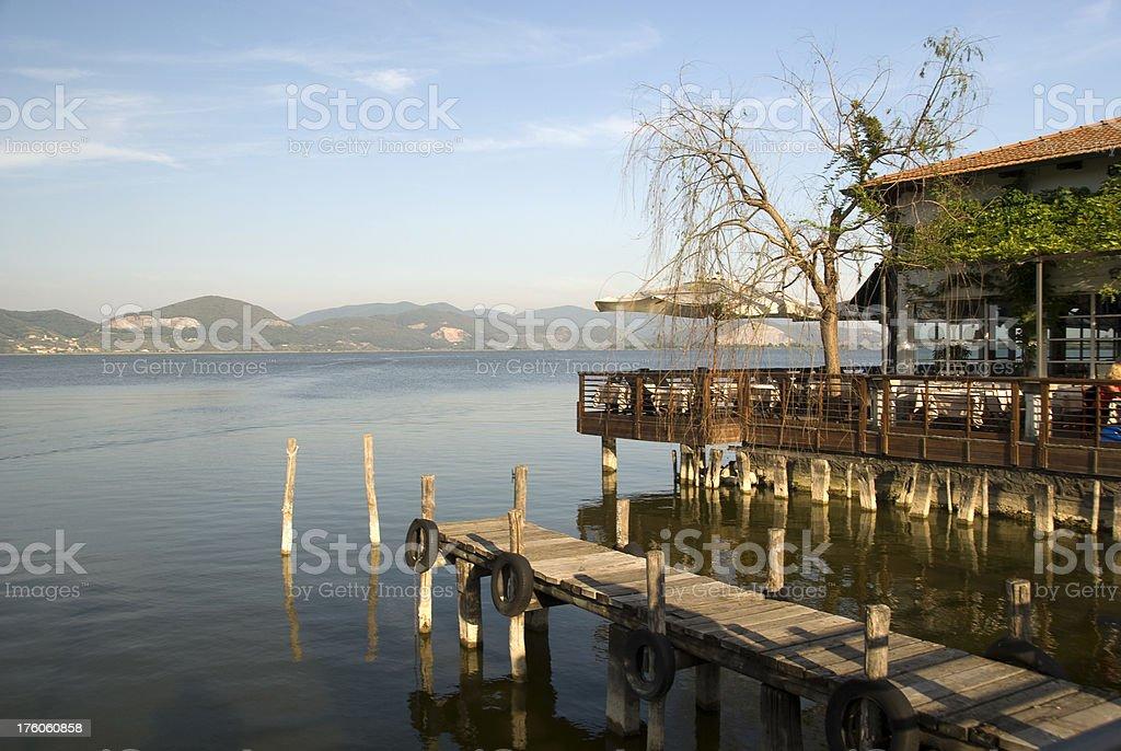 Torre del Lago di Puccini stock photo