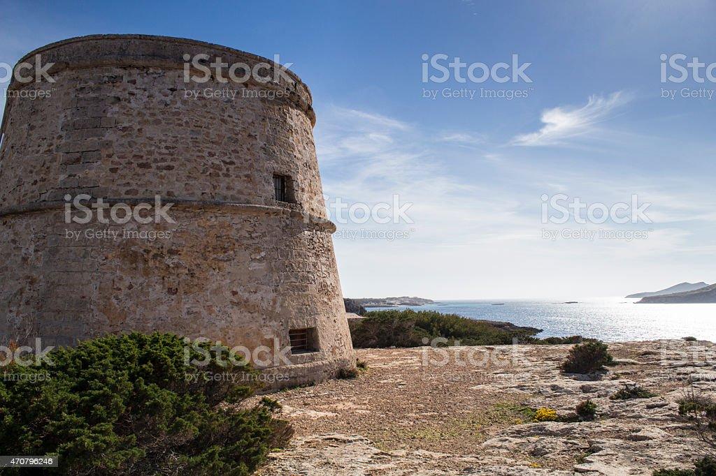 Torre d'en Rovira stock photo