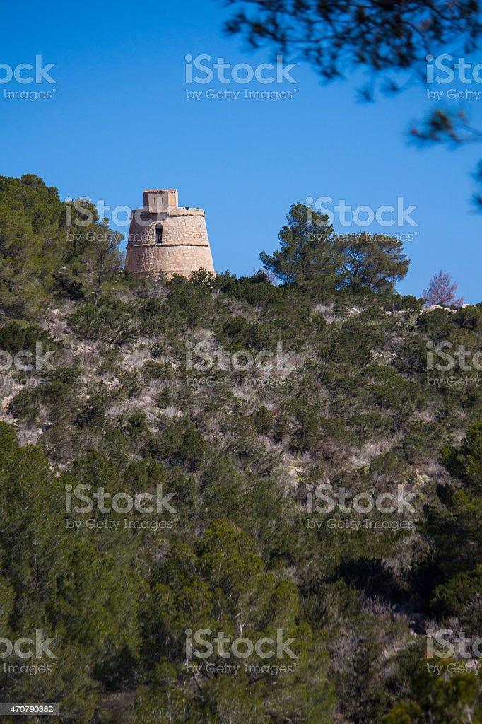 Torre des Molar stock photo