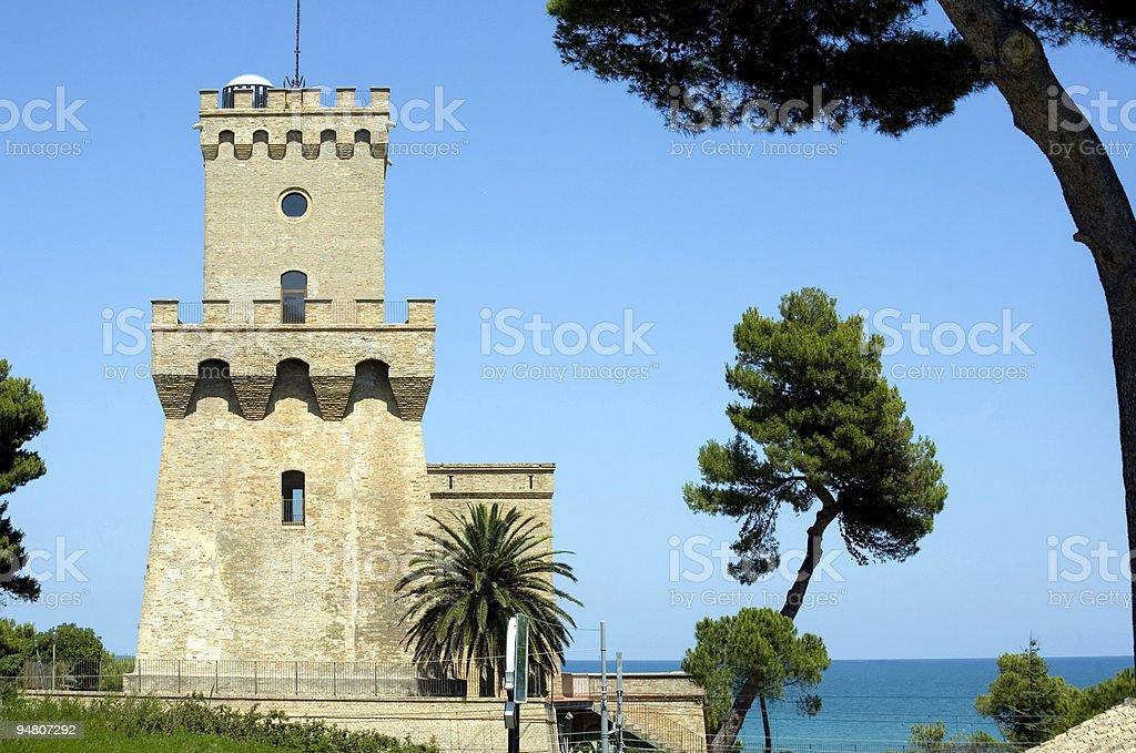 torre di cerrano royalty-free stock photo