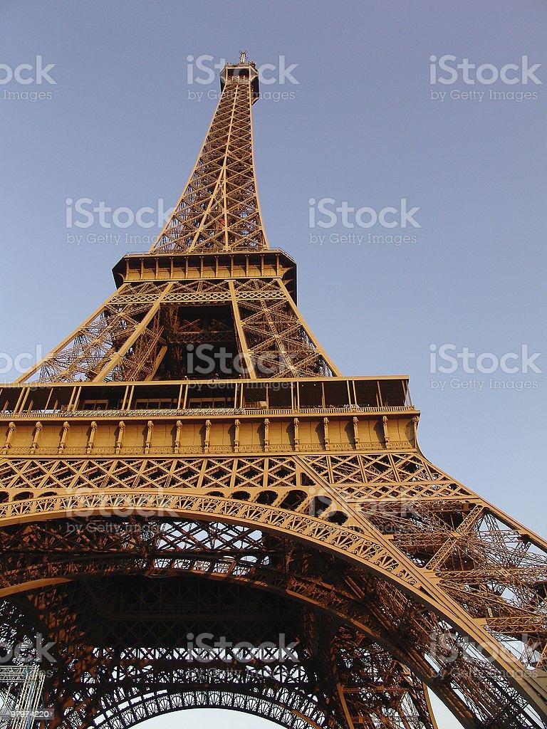 Torre Eiffel royalty-free stock photo