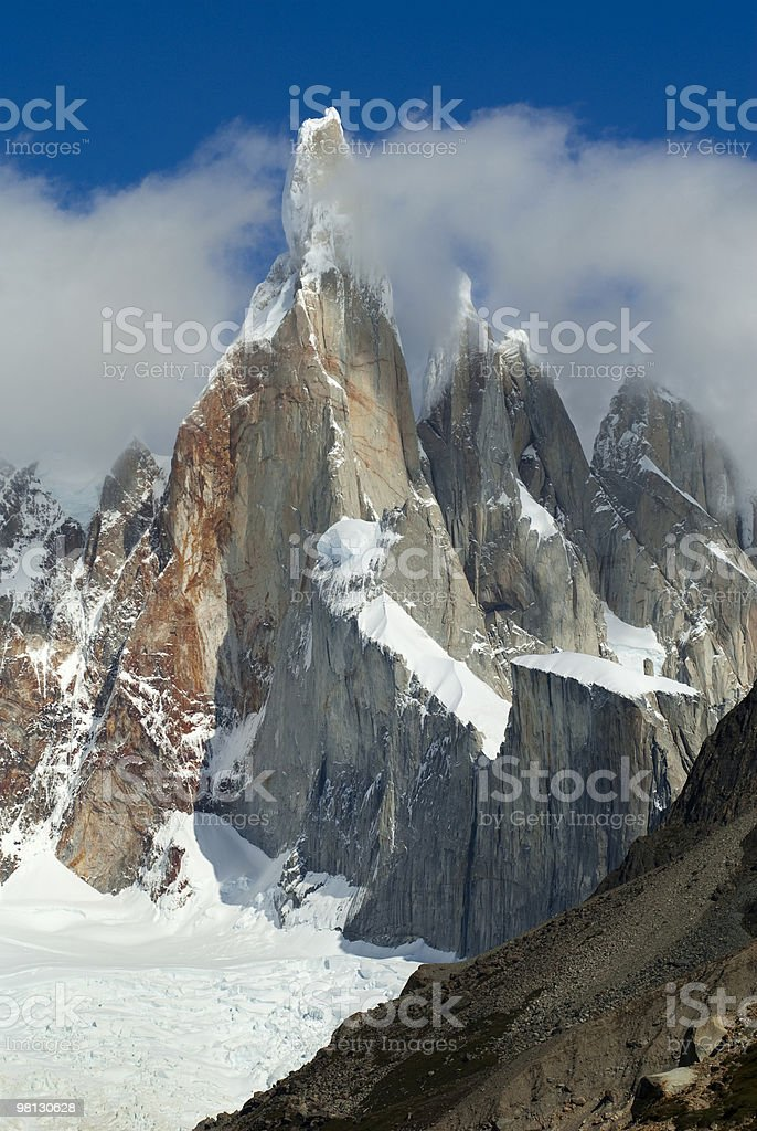 Cerro Torre royalty-free stock photo