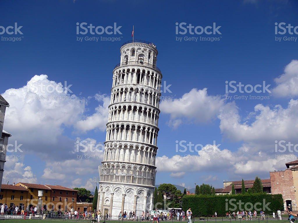 Torre Inclinada de Pisa royalty-free stock photo
