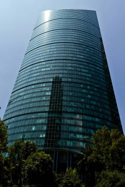 Torre Mayor skyscraper at Mexico city stock photo