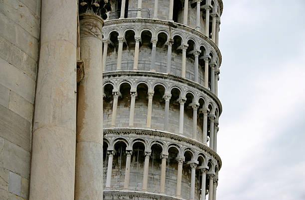 Torre pendente di Pisa stock photo