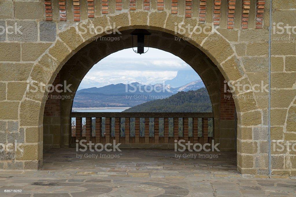Torreciudad royalty-free stock photo