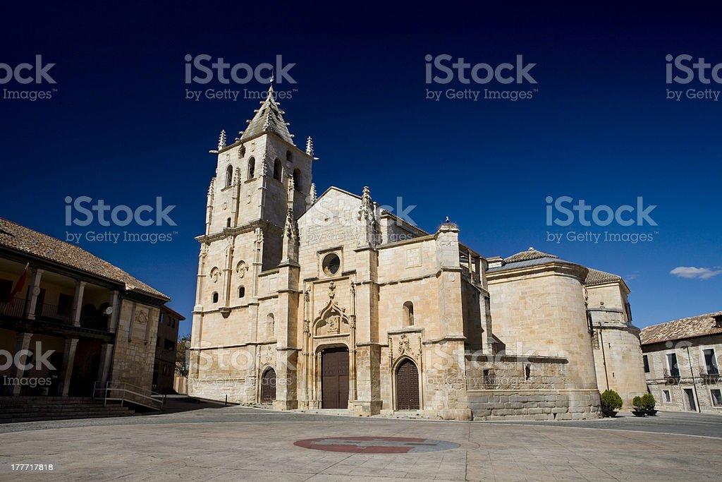 Torrelaguna Church. stock photo