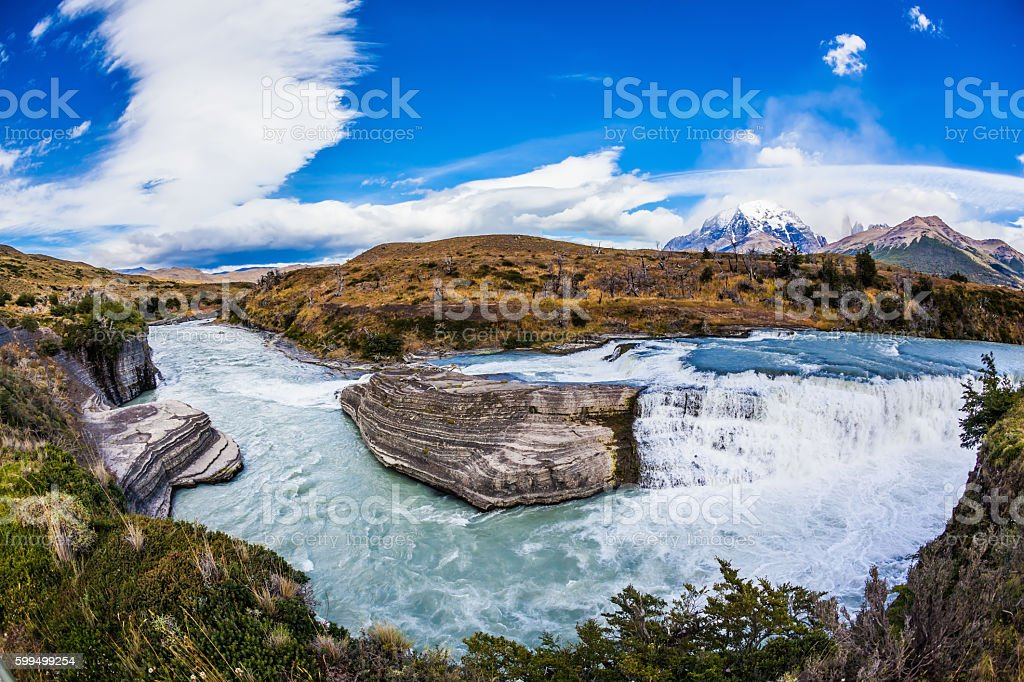 Torres del Paine   - Biosphere Reserve stock photo