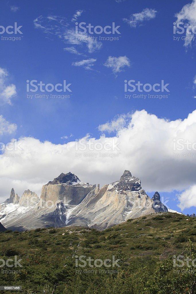 Torres del Paine in chilenischen Patagonien-Porträt – Foto