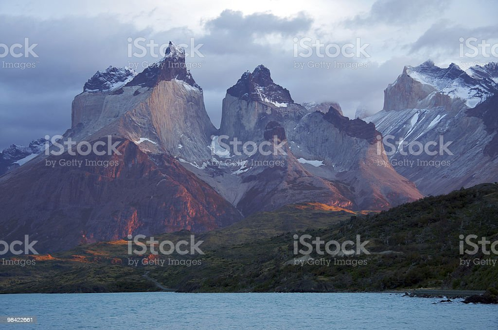Torres del Paine National Park, Chile royalty-free stock photo