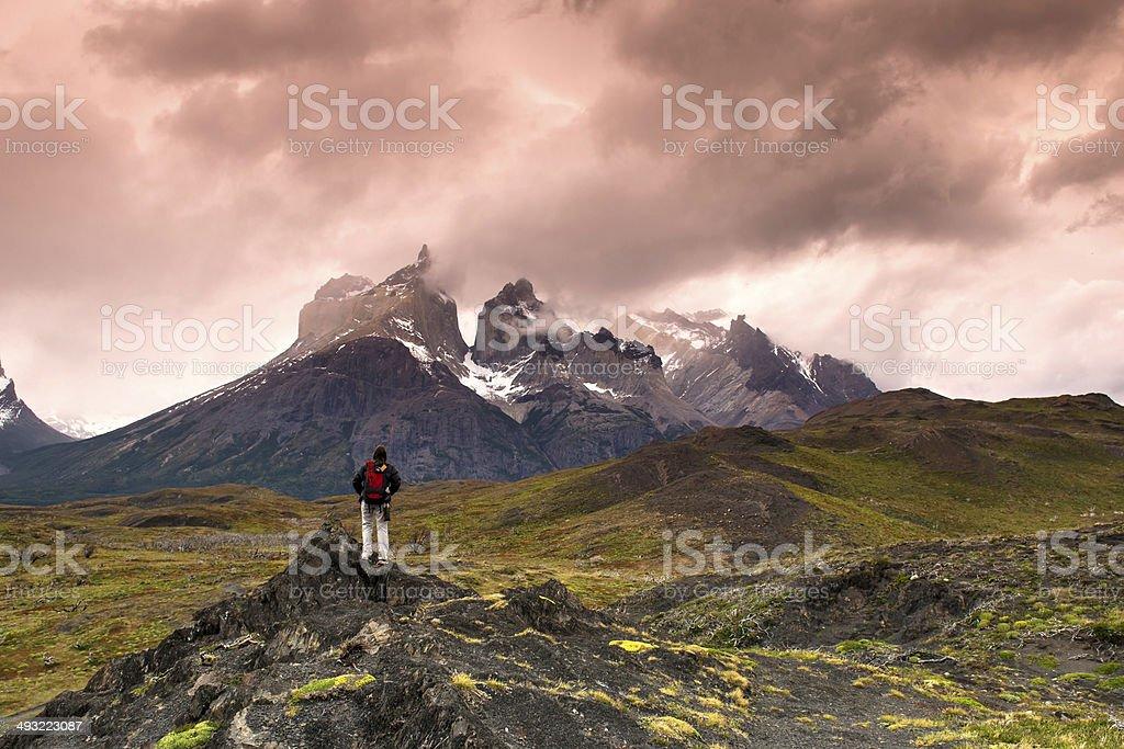 Parque Nacional de Torres del Paine - foto de acervo