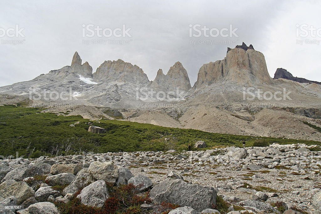 Torres del Paine National Park royalty-free stock photo