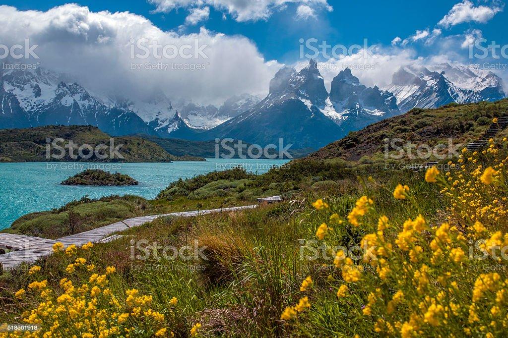 Torres del Paine - Patagonia - Chile stock photo