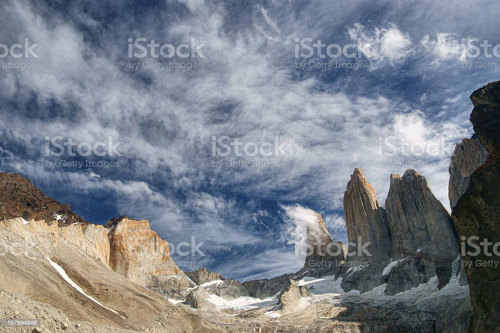 Torres del Paine royalty-free stock photo