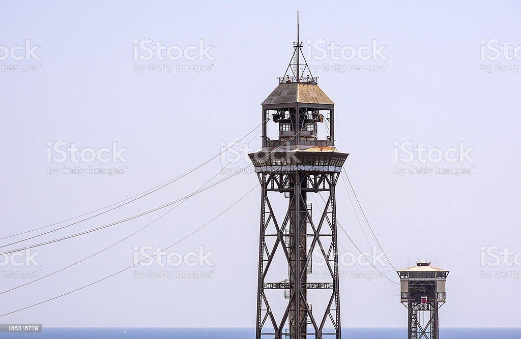 Torres teleferico stock photo