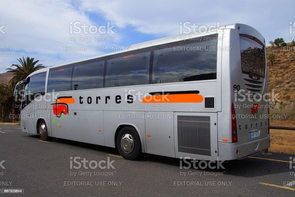 Torres touringcar stock photo