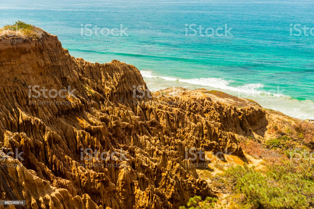 Torrey Pines State Natural Reserve, San Diego stock photo